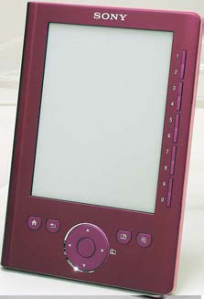 The Sony Reader PRS300