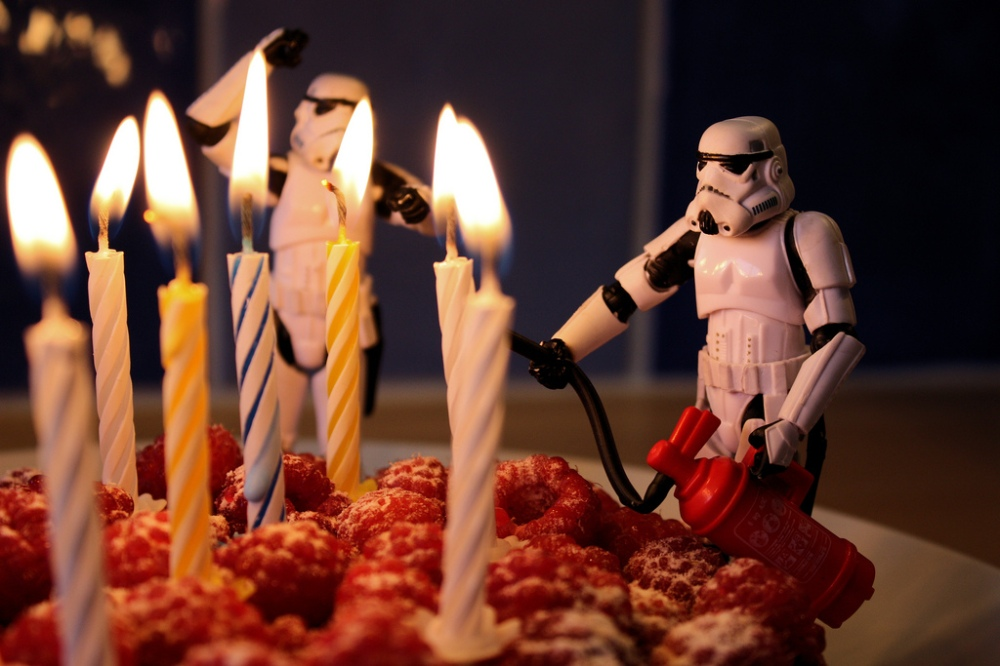 Stormtrooper birthday